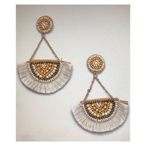 Bohemian style dangle earrings